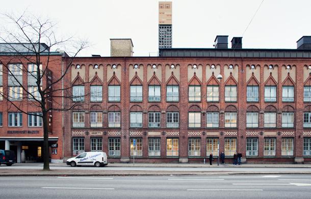 The Mazetti building. Photo.