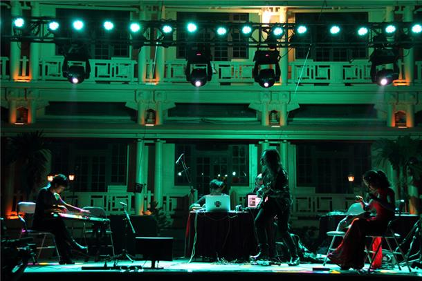 Konsert performance. Photo.