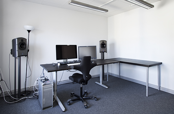 View into the Video Studio A. Photo.