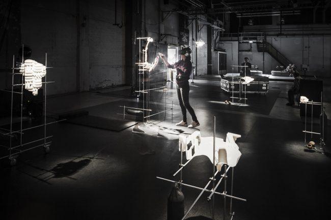 Virtual Reality room. Photo.