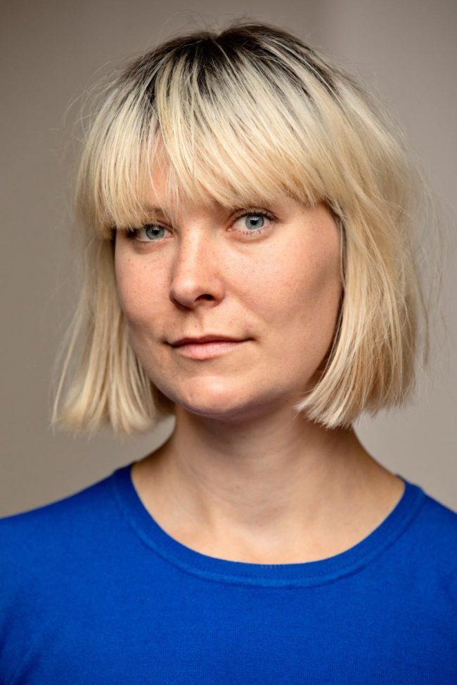 Portrait of Ingvild Skandsen. Photo.
