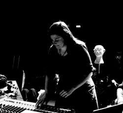 Lola Ajima on the sounds. Photo.