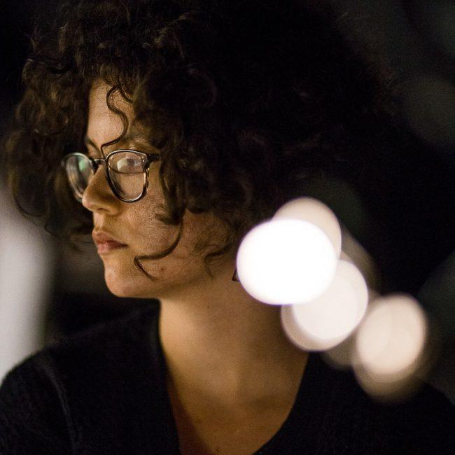 Portrait of Sophie Delafontaine. Photo.