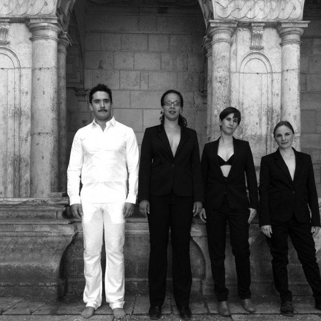 The members of Ensemble Vortex. Photo.
